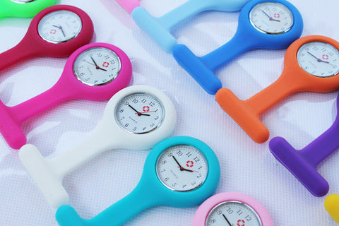 MultiColor Nurse Fob Watches