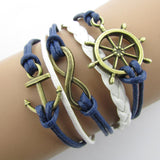 FREE -  Multilayer Leather & Cord Braided Charm Bracelets  -Choose from many Styles!