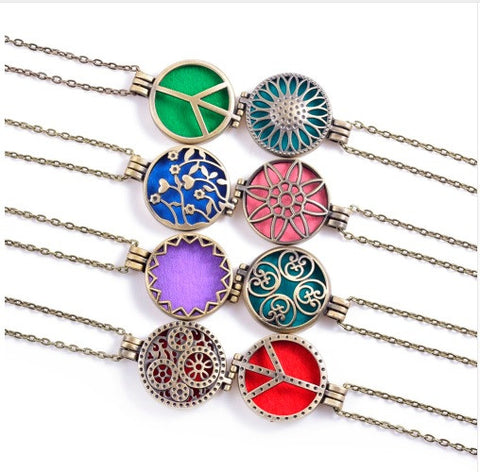 FREE- Essential Oil Diffuser Necklace