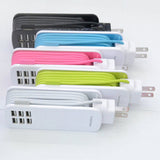 Universal 6 Way Multi USB Mobile Phone Hub Charger-  EU/US/UK/AU