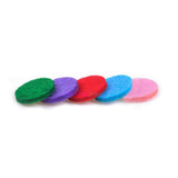 Mixed Color - 100 piece  Felt Refill Pads (Choice of 3 Sizes)  Aromatherapy  Diffuser Bracelets or  Necklace