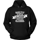 Reality  (Shirts & Hoodies) - Click for More Colors &Styles