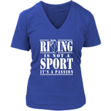"Women's ""Riding is Not a Sport, It's a Passion"" TShirt & Tanks"