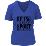 "Women's "" Riding is Not a Sport Its a Passion"" Shirt & Tanks"