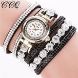 Fashion Women Rhinestone Bracelet Watch