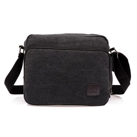 Hot! High Quality Multifunction Men Canvas Bag Casual Travel Crossbody Messenger Bags