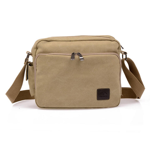 2ec4b7f5aa3e High Quality Multifunction Men Canvas Bag Casual Travel Bolsa Masculina  Men s Crossbody Bag Men