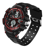 Men Waterproof LED Sports Military Watch- Shock Resistant
