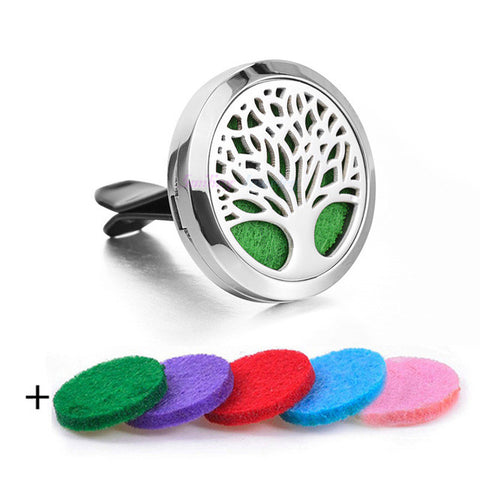 100% Real Stainless Steel   Essential Oil Car Diffuser for  Aromatherapy