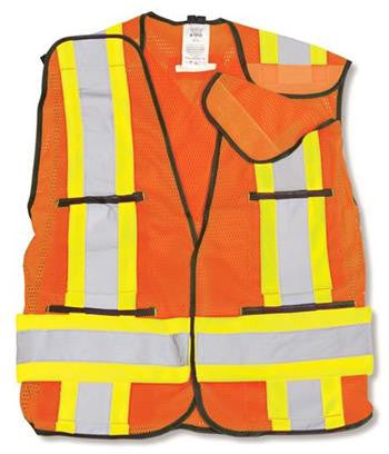 100% Polyester Soft Mesh Safety Vest