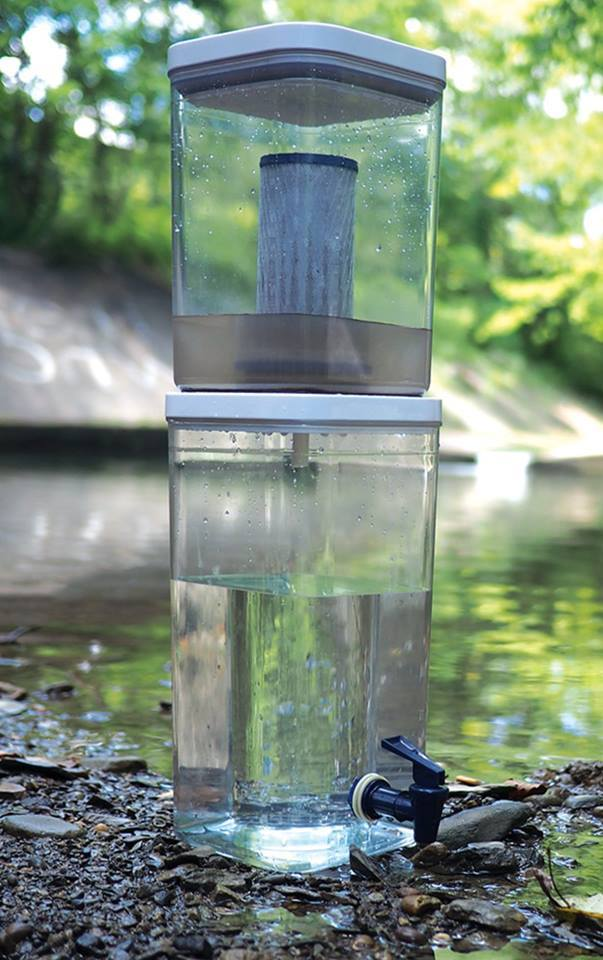 Gravity Flow - Water Filter