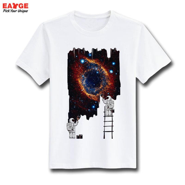 Geek Video Game Nostalgic Print T-shirt