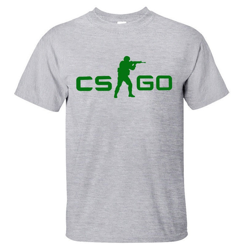 COUNTER STRIKE GLOBAL CS Gun T shirts