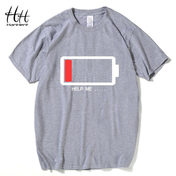 Hanhent HELP ME Energy Low TShirt