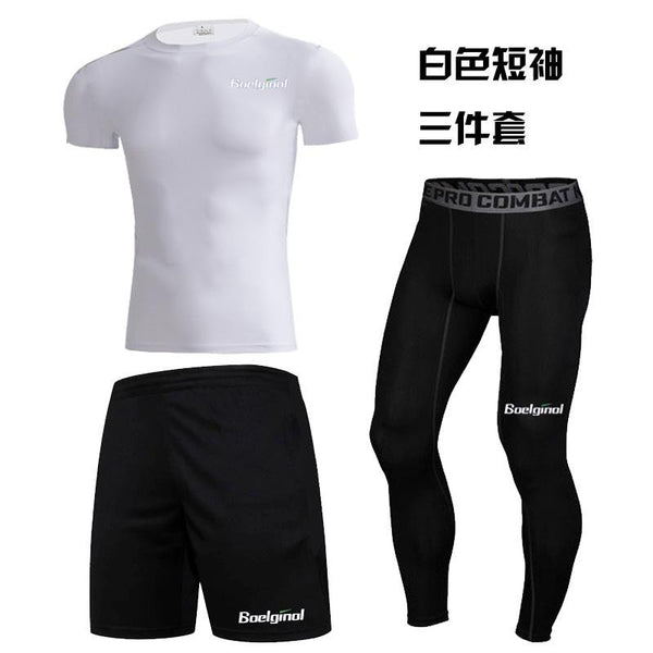 3 Pieces Mens Sports Running suit