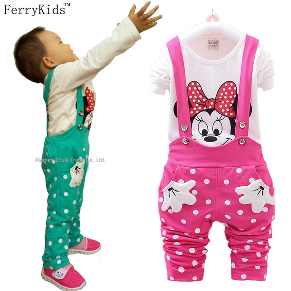 Baby Toddler Girl Overalls