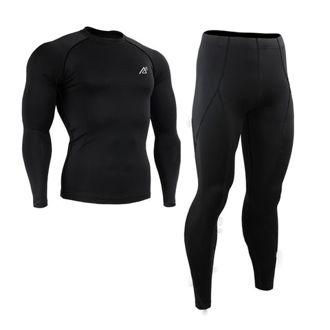 Winter Sports Fitness Clothing Set
