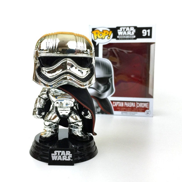 Star Wars - Captain Phasma - Chrome (91) Pop! Vinyl, Funko - Collekt.co.uk