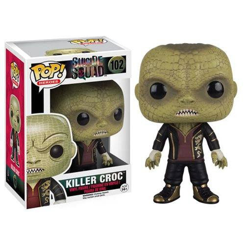 Suicide Squad - Killer Croc (102) Pop! Vinyl, Funko - Collekt.co.uk