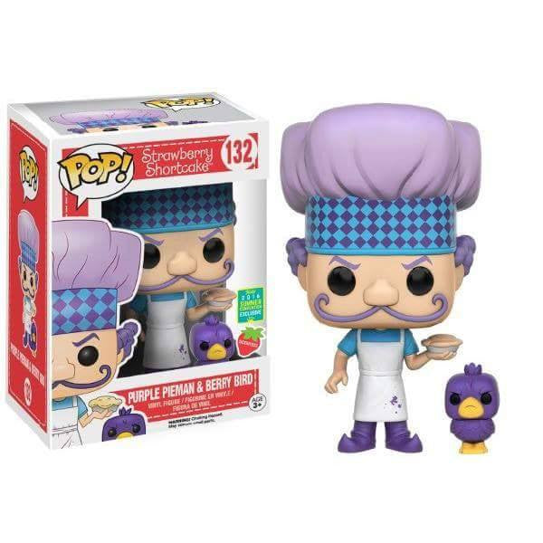 Strawberry Shortcake - Purple Pieman & Berry Bird - Scented - SCE (132) Pop! Vinyl, Funko - Collekt.co.uk