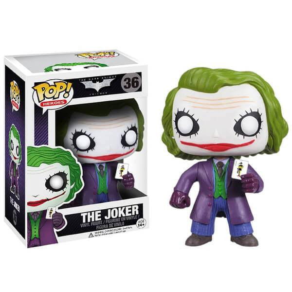 Dark Knight Trilogy - Joker, The (36) - Collekt.co.uk - Funko Pop Vinyl - UK Stock!!