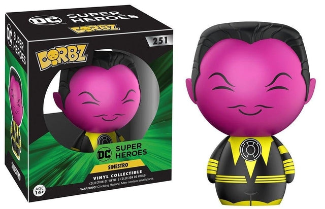 DC - Sinestro (251) - Collekt.co.uk - Funko Pop Vinyl - UK Stock!!
