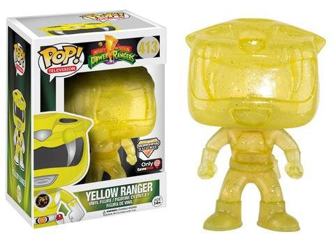 Mighty Morphin Power Rangers - Yellow Ranger (413) - Collekt.co.uk - Funko Pop Vinyl - UK Stock!!