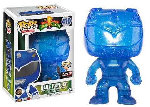 Mighty Morphin Power Rangers - Blue Ranger (410) - Collekt.co.uk - Funko Pop Vinyl - UK Stock!!
