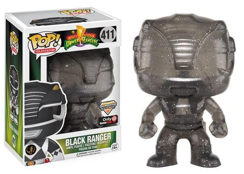 Mighty Morphin Power Rangers - Black Ranger (411) - Collekt.co.uk - Funko Pop Vinyl - UK Stock!!