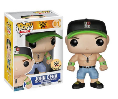 WWE - John Cena - Green Hat (01)