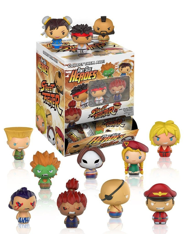 Street Fighter - Pint Size Heroes - Blind Bags