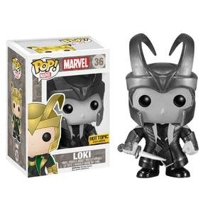 Marvel - Loki - Black and White (36)