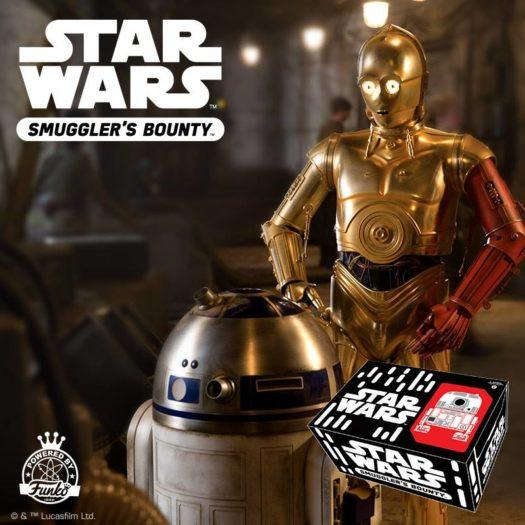 Funko Pop Star Wars - Smugglers Bounty - Droids - July - PREORDER