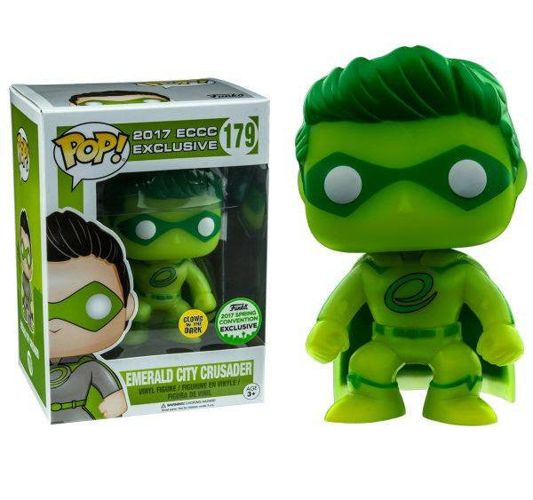 ECCC - Emerald City Crusader - GITD - SCE (179) Pop! Vinyl, Funko - Collekt.co.uk