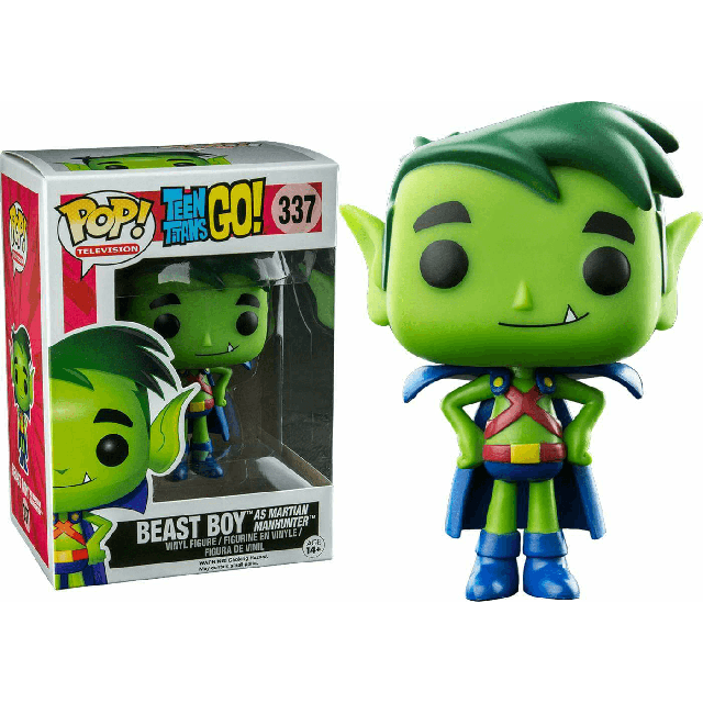 Teen Titans - Beast Boy as Martian Manhunter (337) Pop! Vinyl, Funko - Collekt.co.uk