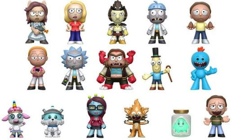 Rick and Morty - Character Select - Open Box