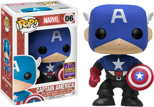 Marvel - Captain America - SEC (06) Pop! Vinyl, Funko - Collekt.co.uk
