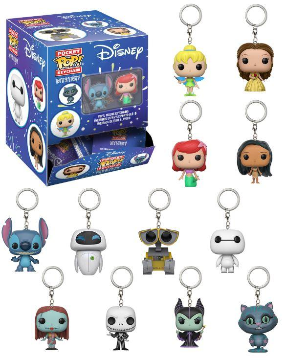 Disney S1 - Pocket Pop Keychains Blindbags Pocket Pop, Funko - Collekt.co.uk