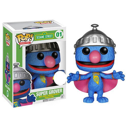 Sesame Street - Super Grover (01) Pop! Vinyl, Funko - Collekt.co.uk