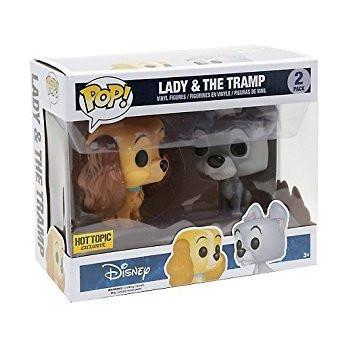 Disney - Lady & The Tramp - 2 Pack