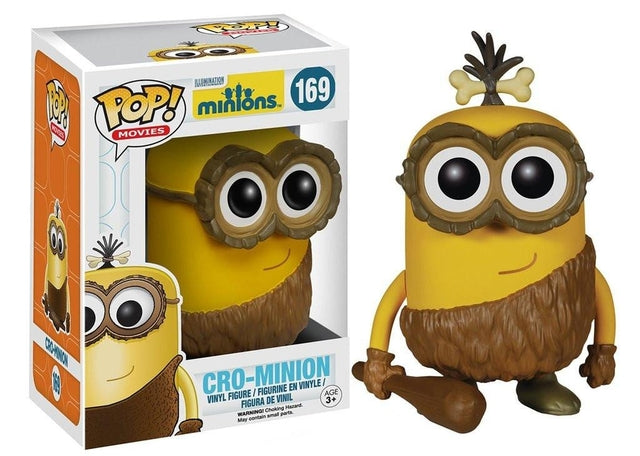 Minions - Cro-Minion (169) Pop! Vinyl, Funko - Collekt.co.uk