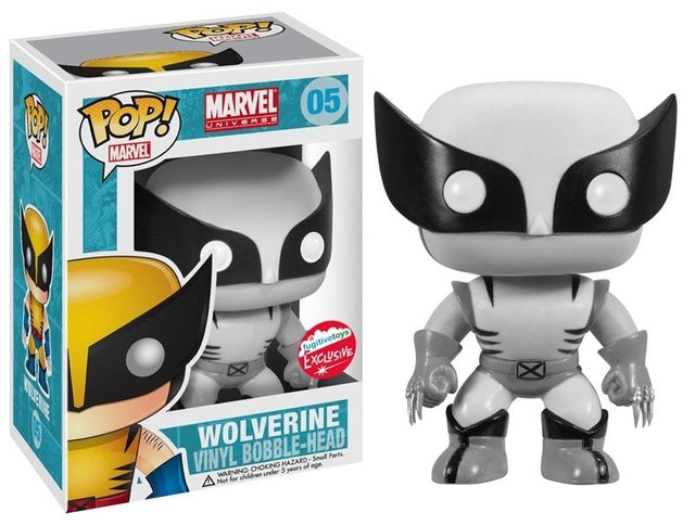 Marvel - Wolverine - Black and White (05)