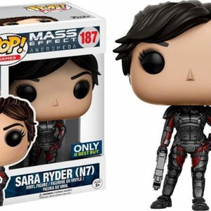 Mass Effect Andromeda - Sarah Ryder N7 (187) Pop! Vinyl, Funko - Collekt.co.uk