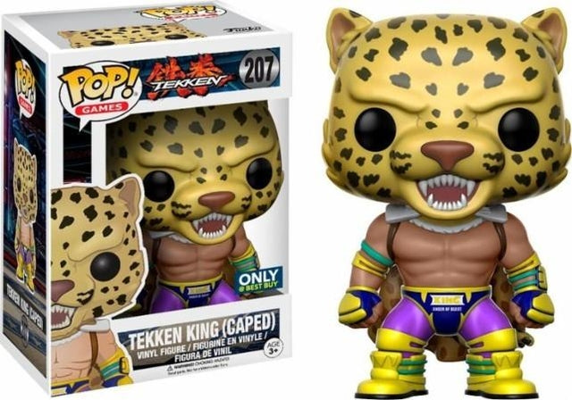 Tekken - Tekken King - Caped (207) - PREORDER - Collekt.co.uk - Funko Pop Vinyl - UK Stock!!