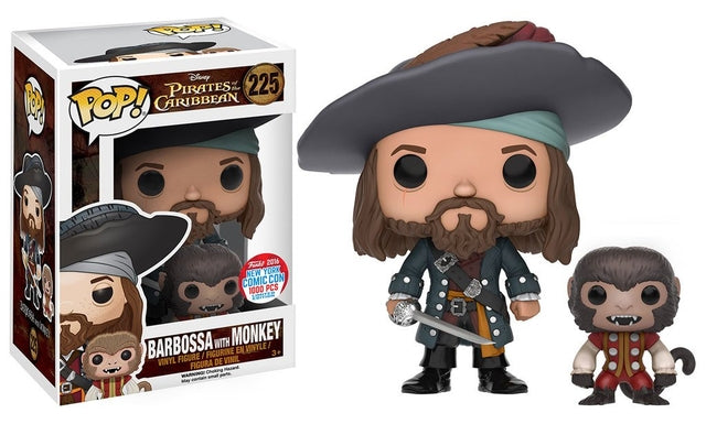 Pirates of the Caribbean - Barbossa with Monkey (225)