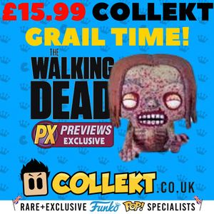 Collekt - Grail Time - Mystery Funko Pop Vinyl - TWD - Bicycle Girl - Bloody - Collekt