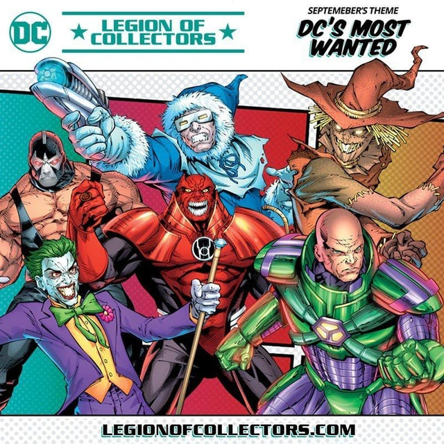 DC - Legion of Collectors Box - September 2017 - DC's Most Wanted