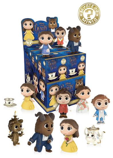 Funko Mystery Mini Disney - Beauty and the Beast - Full Case (x12) Mystery Mini, Funko - Collekt.co.uk
