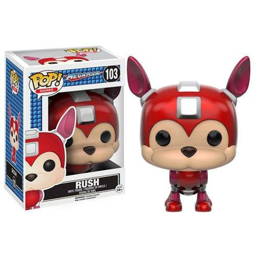 Mega Man - Rush (103) Pop! Vinyl, Funko - Collekt.co.uk