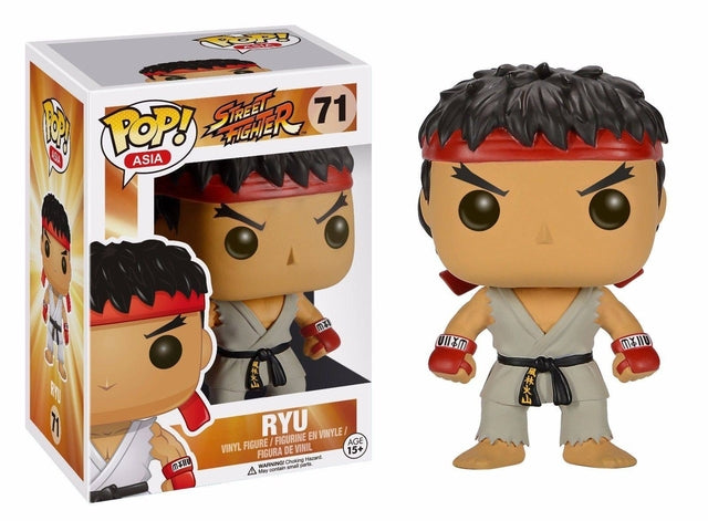 Street Fighter - Ryu (71) Pop! Vinyl, Funko - Collekt.co.uk